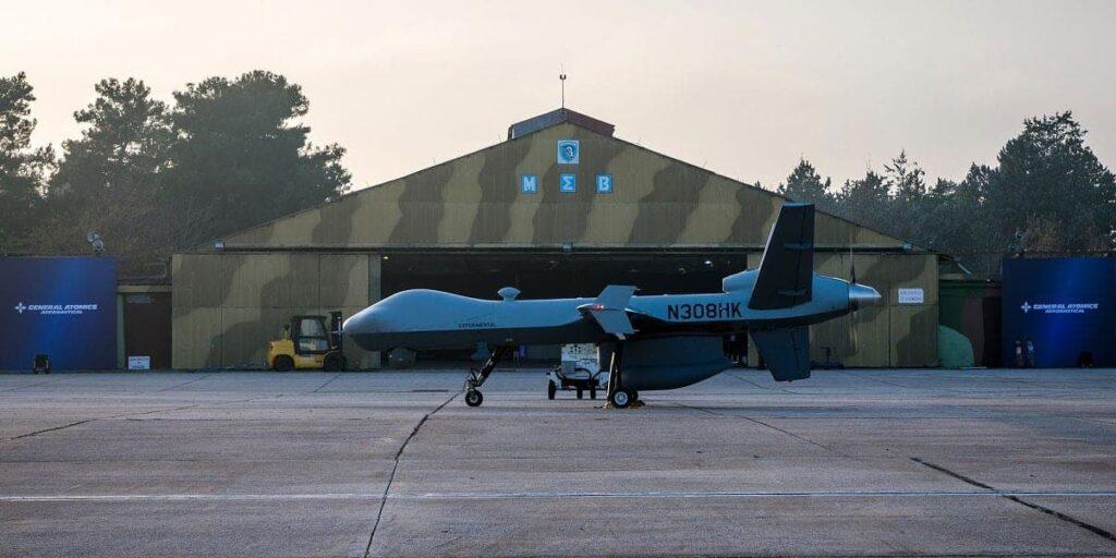 MQ-9 Guardian UAS in Greece