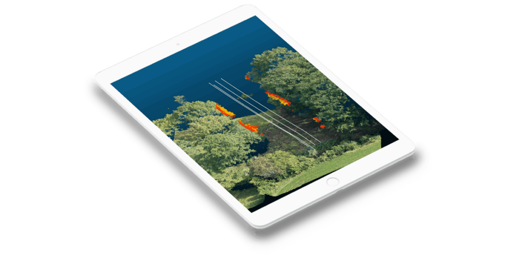 Powerline drone inspection software