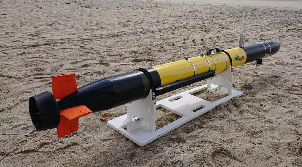 Autonomous Underwater Vehicle for subsea missions