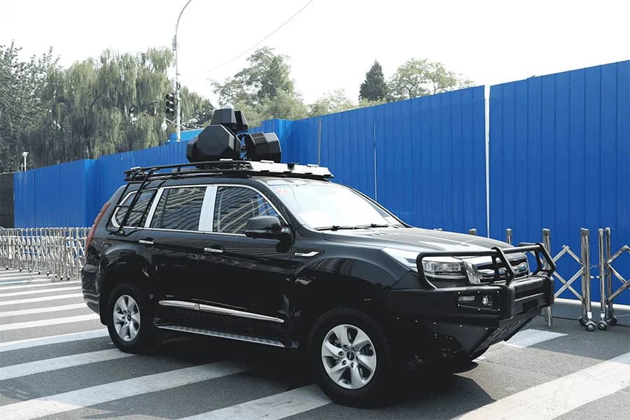 DGS V6000T counter-drone system for vehicle convoys