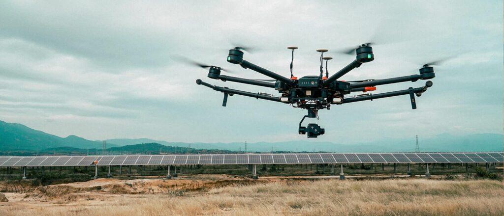 Drone camera gimbal