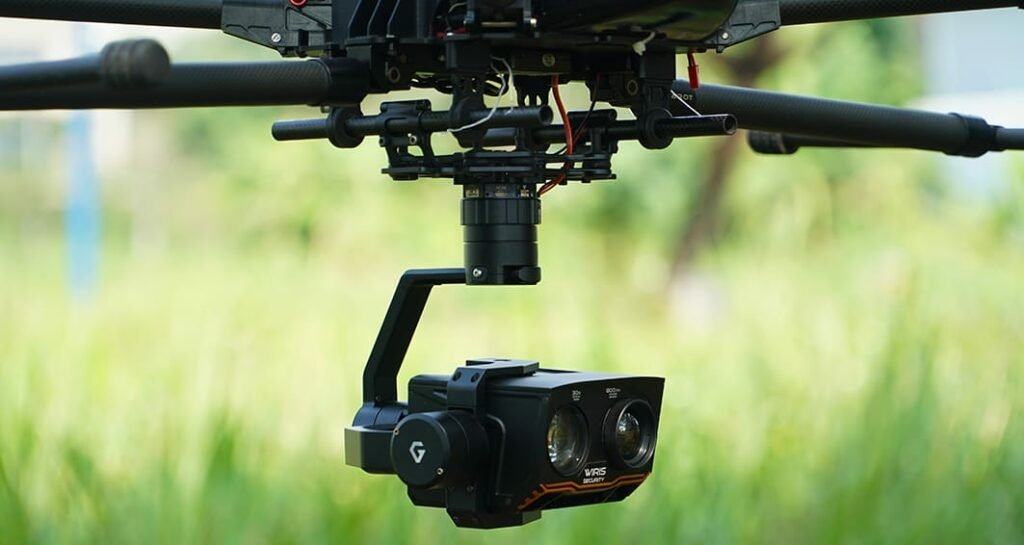 Gimbal for Workswell WIRIS drone camera