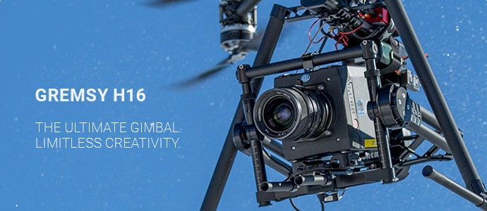 Gremsy H16 drone camera stabilizing gimbal