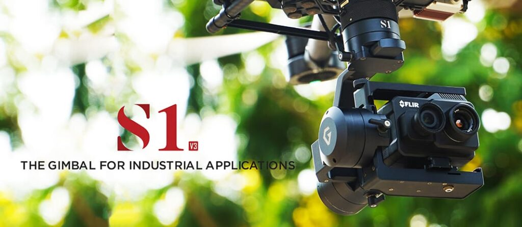 Gremsy S1V3 Industrial Drone Gimbal