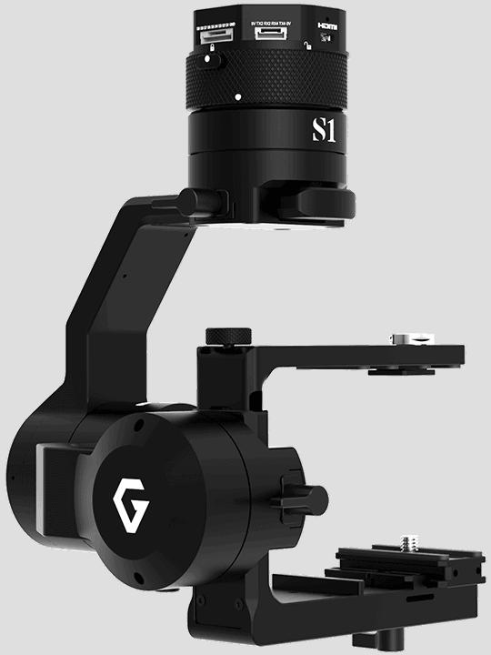 Gremsy S1V3 Single Arm Drone Gimbal
