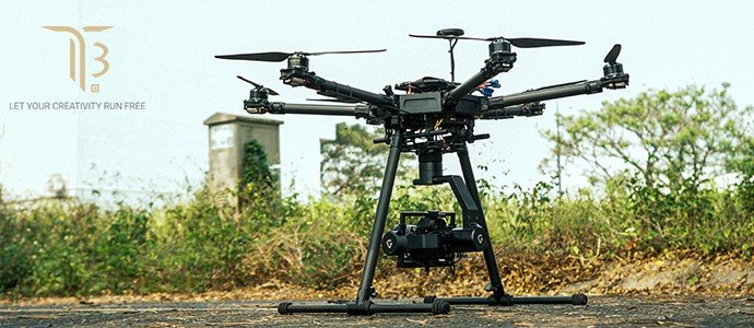 Gremsy T3 drone camera gimbal stabilizer