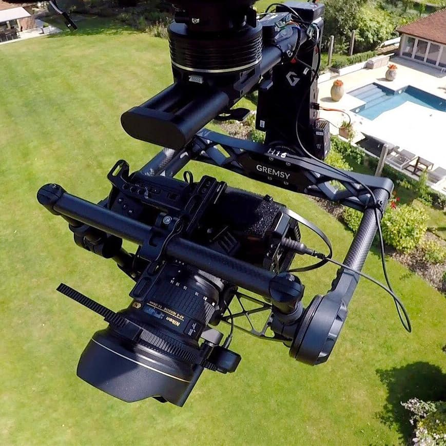H16 drone camera gimbal stabilizer