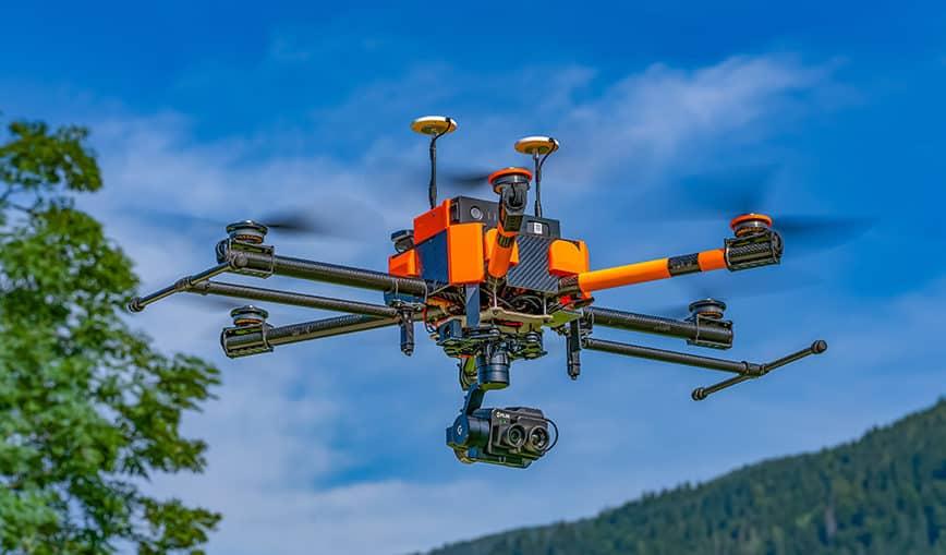 Pixy F drone camera stabilizer