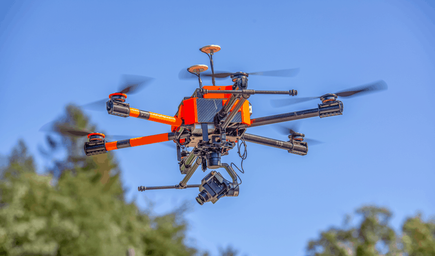 Pixy F gimbal stabilizer for drones