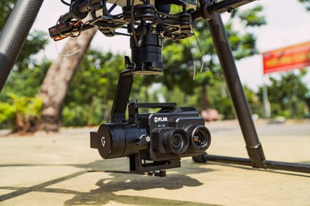Pixy U drone camera stabilizer