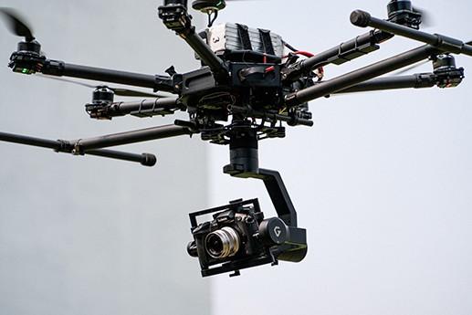 T3 drone gimbal camera