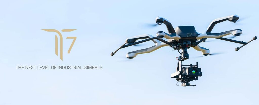 T7 robust gimbal for heavy-lift industrial drones