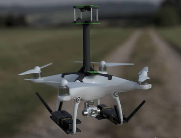 TEN TECH LLC Huracán Multi-Purpose Aerial Drone