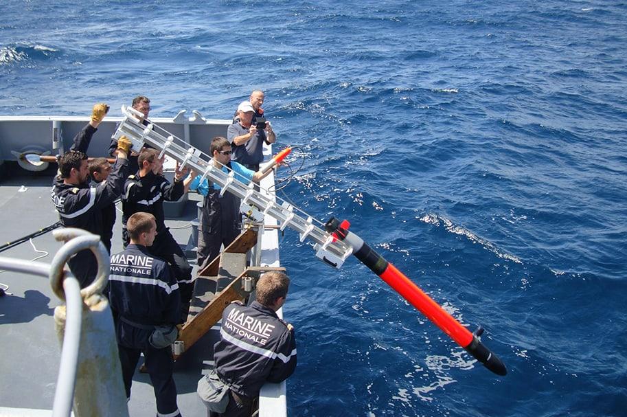 UUV for anti-submarine warfare training