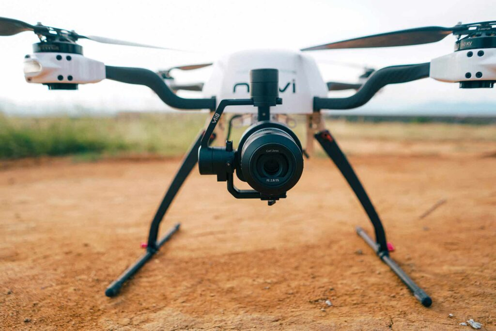 Ultra-lightweight and compact drone gimbal