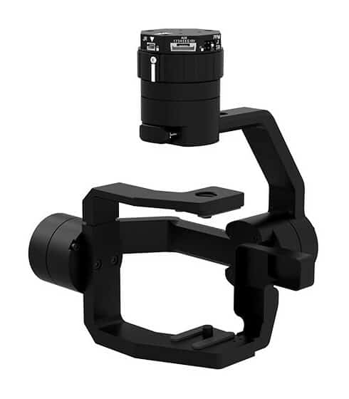 pixy ws drone gimbal for Wiris Security camera
