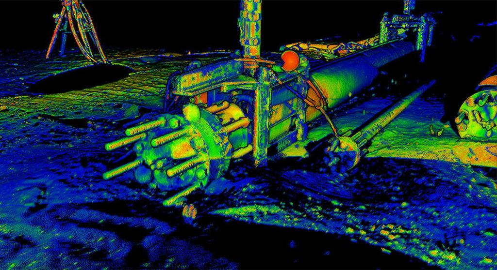 2G Robotics underwater imaging
