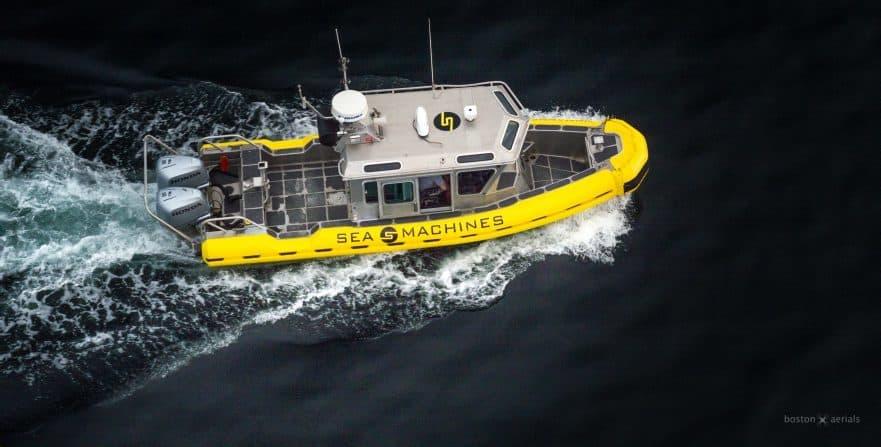 Autonomous control system for boats