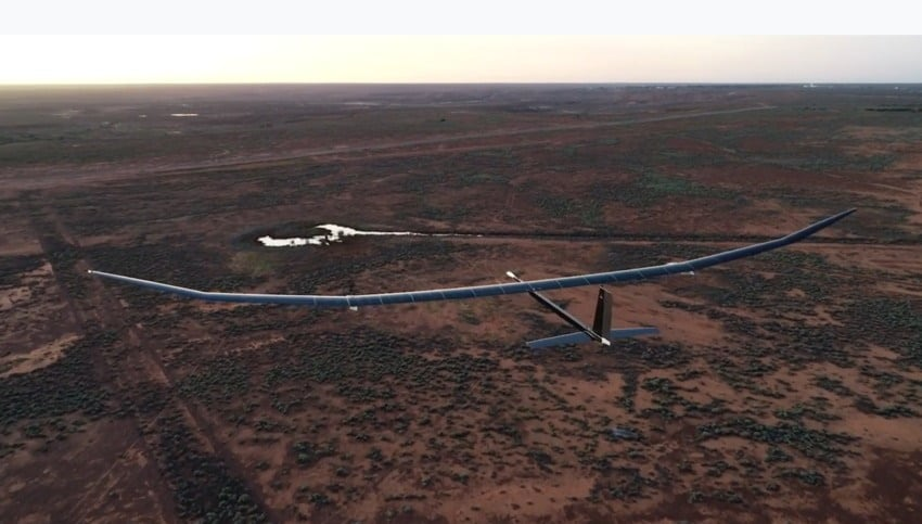 BAE Systems solar powered UAS
