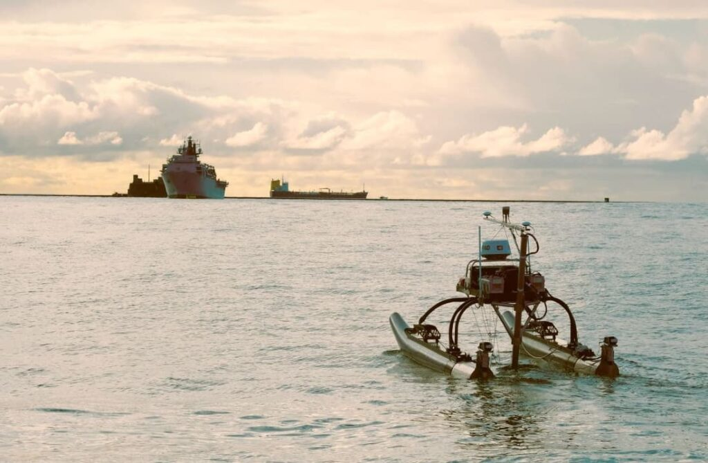 Dynautics unmanned surface vessel