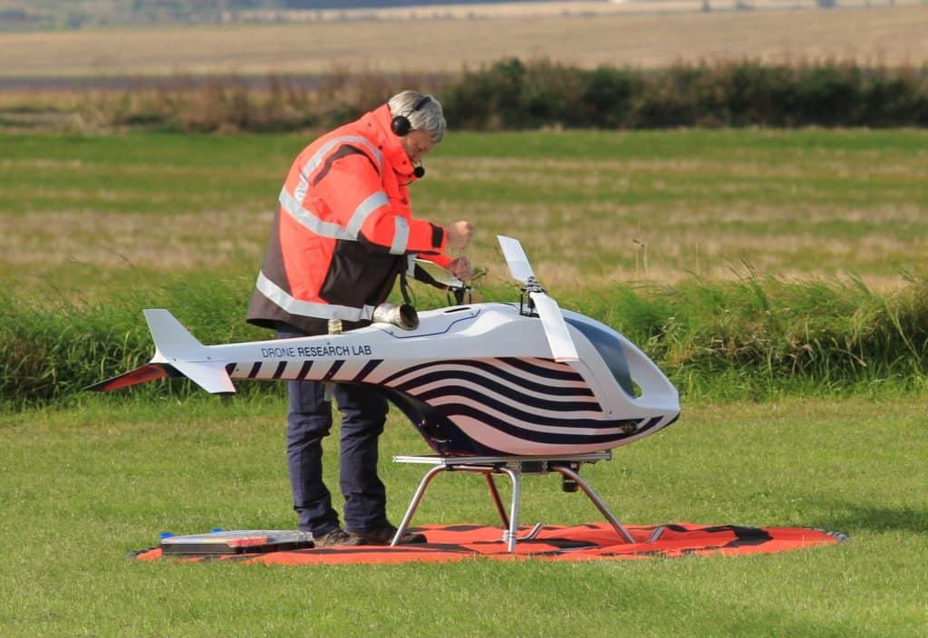 FT Technologies wind sensor on UAV