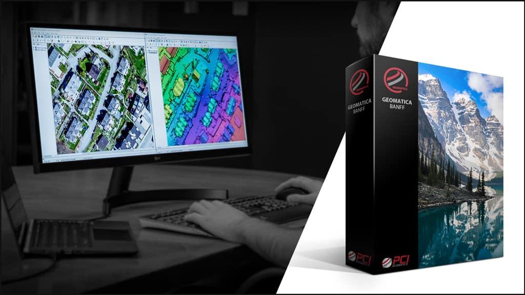Geomatica Banff image analysis software