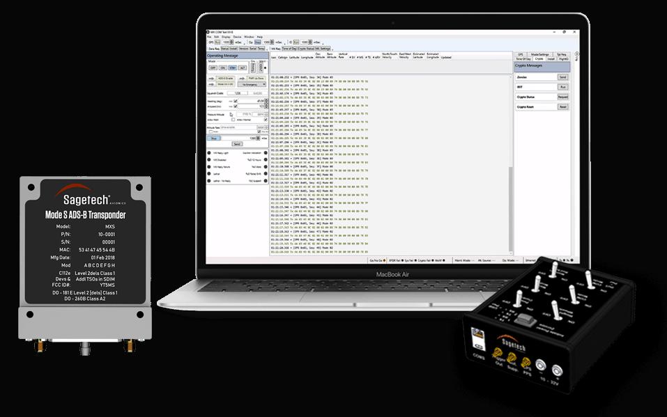 MXS mode s UAV transponder
