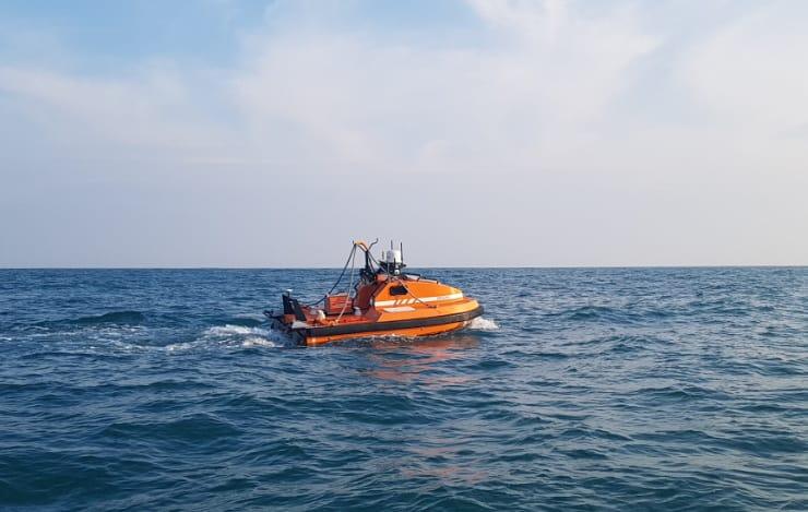 OceanAlpha M40P USV