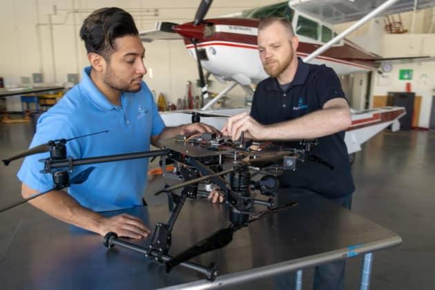 Robotic Skies drone repair and servicing
