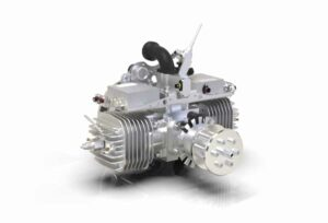 Sky Power SP-210 HF FI TS heavy fuel UAS engine