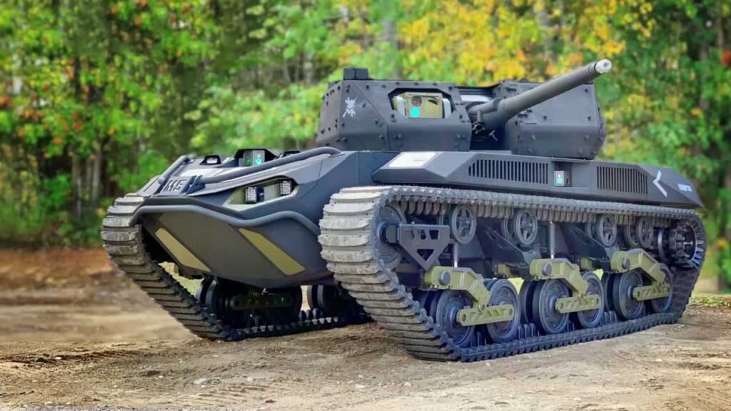 US Army Remote Combat Vehicle