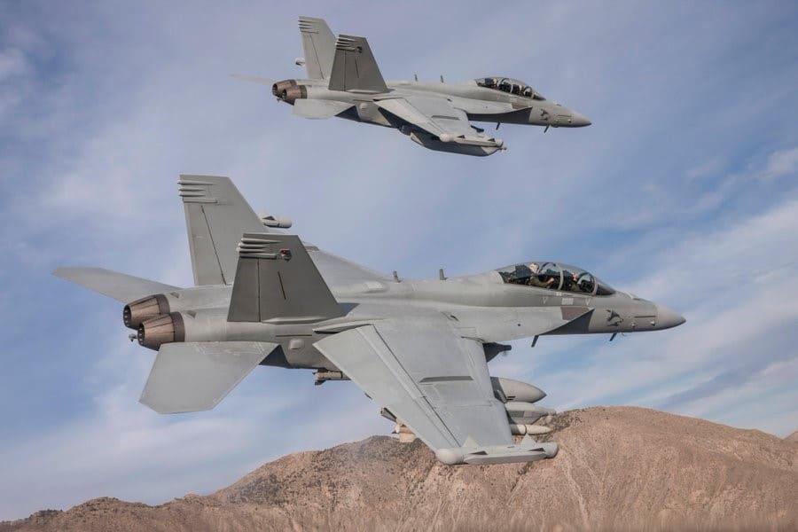 US Navy Growler aircraft