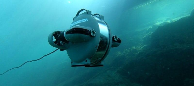 Underwater ROV Deep-Trekker