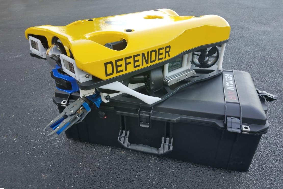 Defender ROV with Tritech multibeam sonar