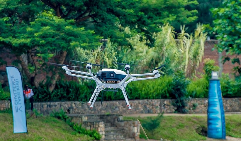 Doosan Mobility hydrogen powered drone