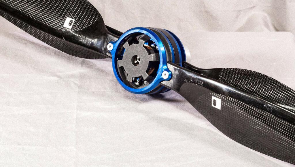 Efficient electric drone motors