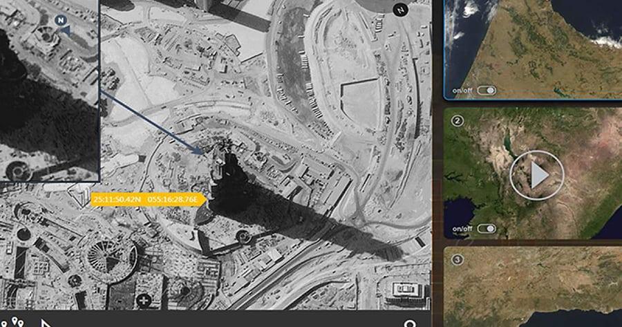 Geospatial data analysis software