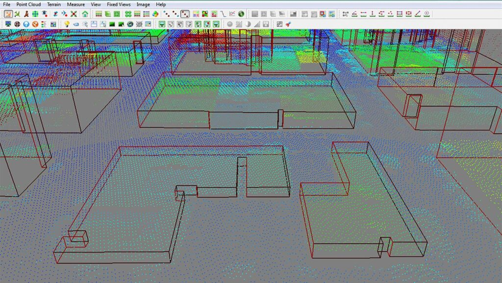 LiDAR data analysis software