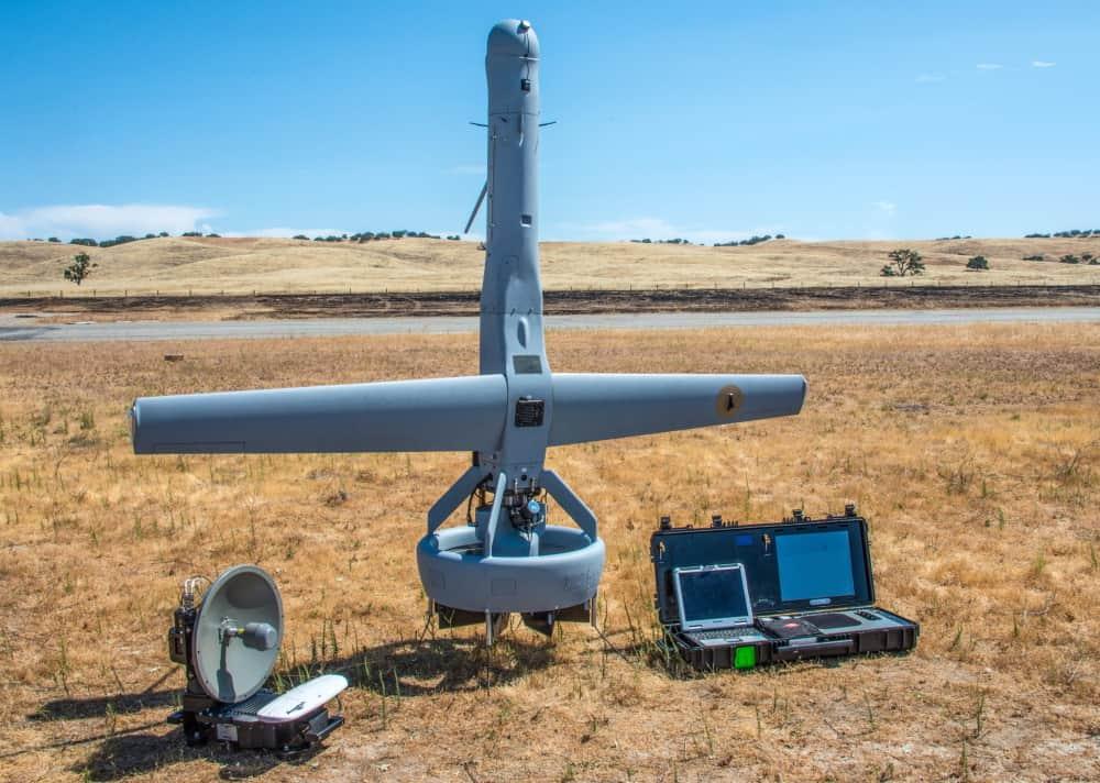 Martin UAV V-BAT tactical UAS with Reventec fuel level sensor