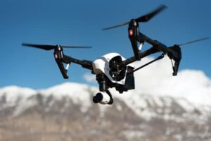 Secure smart radio for drones and UAV
