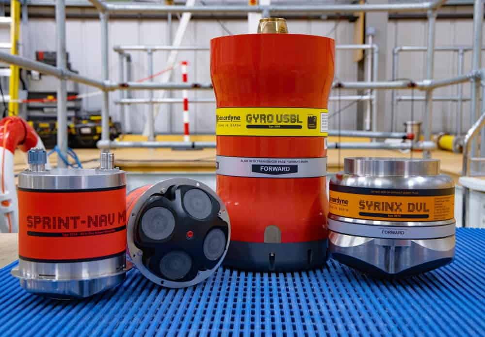 Sonardyne underwater technologies