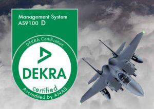 Triad AS9100D certification