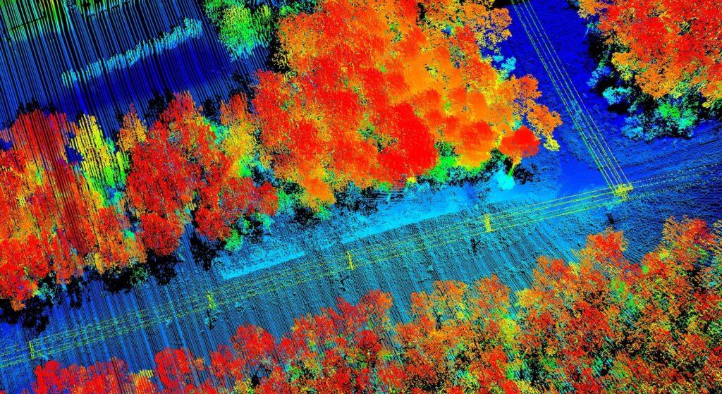 Drone LiDAR Sensor Image