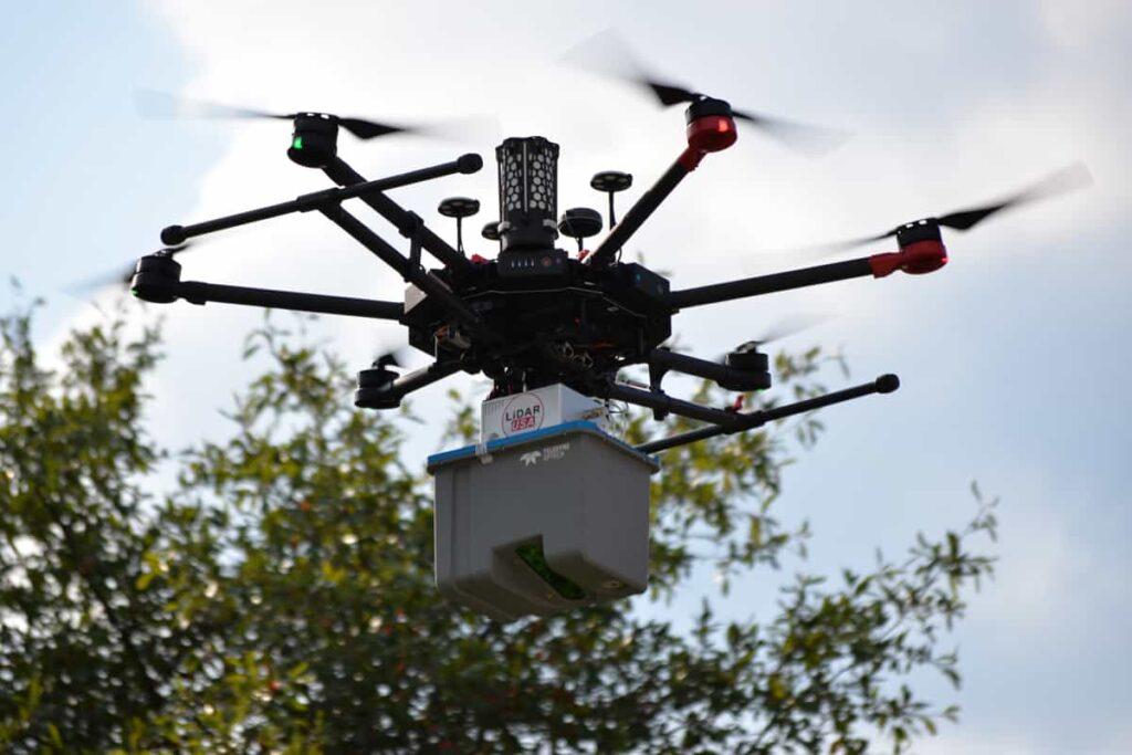 Drone Mounted LiDAR