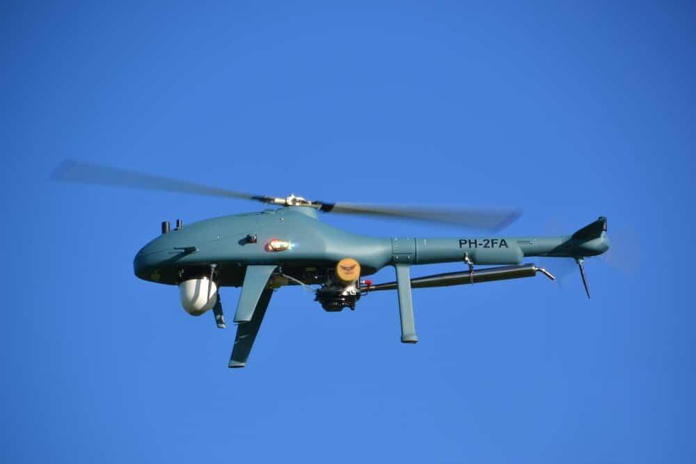 High Eye Airboxer UAS with Sagetech ADS-B transponder