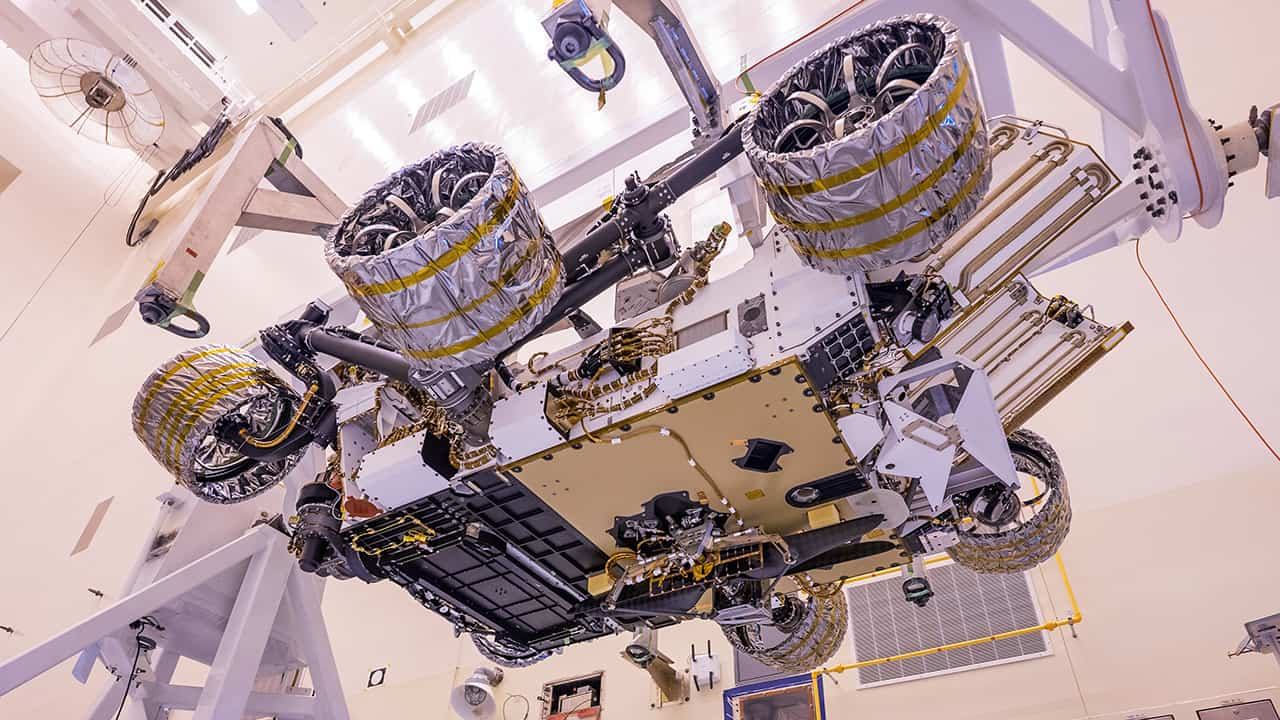 Unmanned Helicopter Integrated into Mars Perseverance Rover   Unmanned Systems Technology