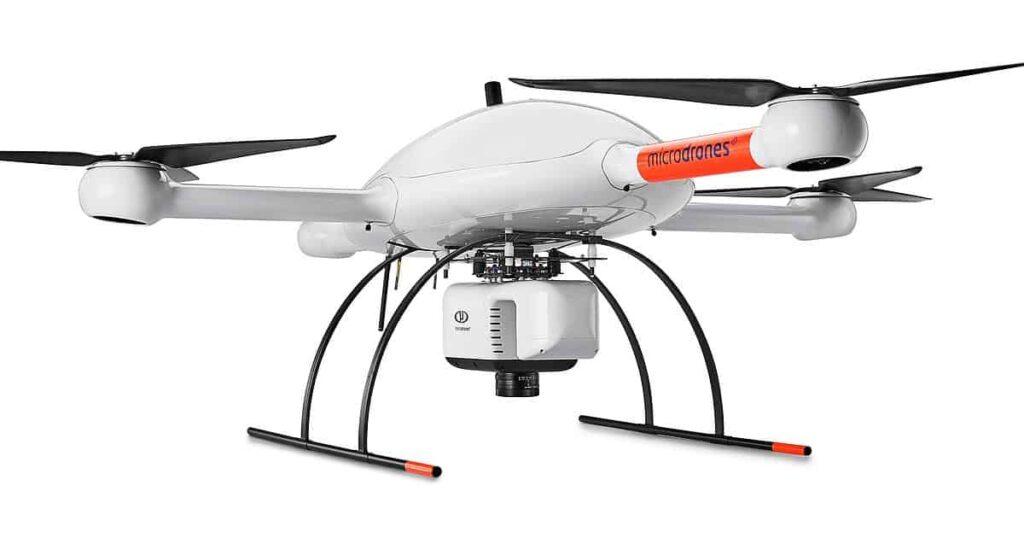 Microdrones mdLiDAR1000 UAS