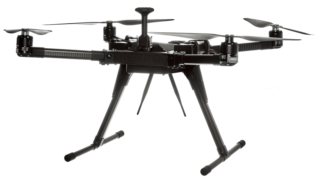 Professional VTOL Quadcopter for commercial applications
