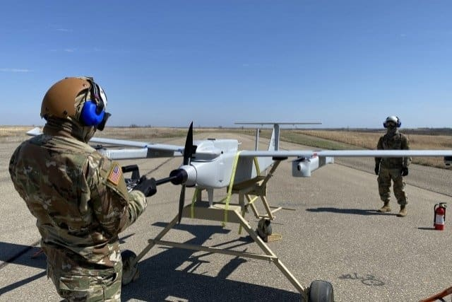 US Army tactical UAS testing