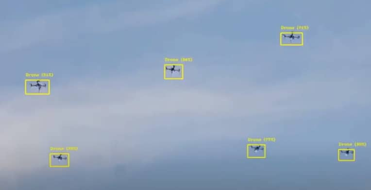 Vision4ce drone tracking